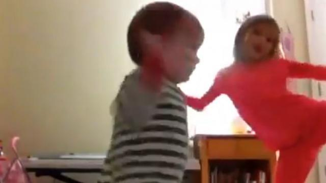 Mom Left Her 2 Adorable Daughters Alone With Music and Camera and This Happens!