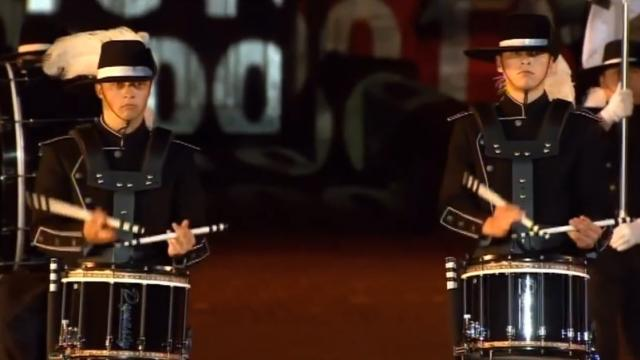 "Banda de tambores ""Top Secret Drum Corps"""
