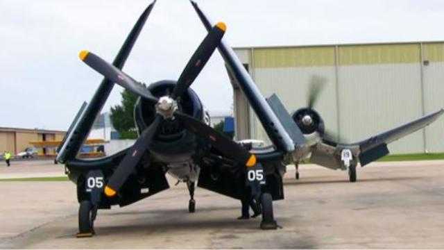 Heres the Sweet Sound of an F4u Corsair Firing Up