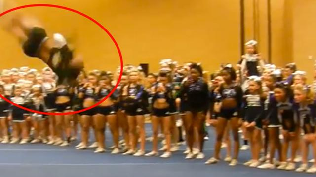 It Only Took 20 Seconds For This Cheerleader To Completely Blow My Mind