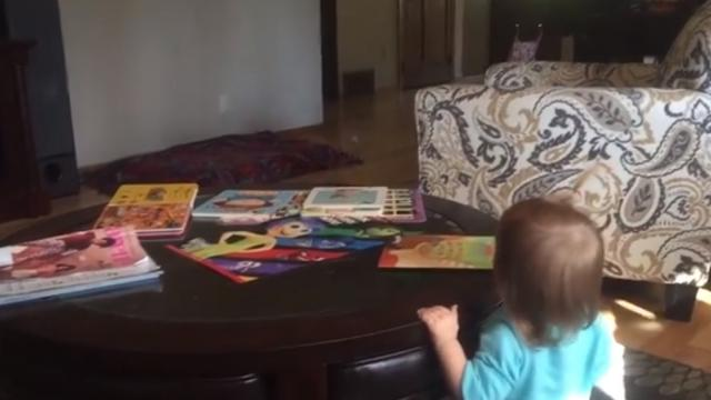 Cute Little Puppy Loves Playing Peekaboo With Toddler And It Will Melt Your Heart_Large
