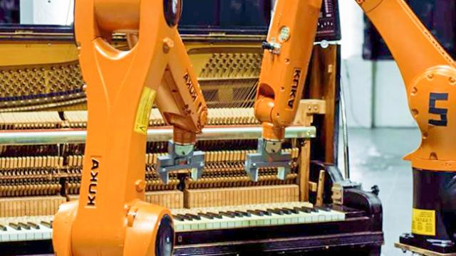 AUTOMATICA - Robots Vs. Music - Nigel Stanford