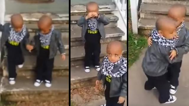This World Could Learn from The Way These Twins Deal With Hurt Feelings, Its So Cute