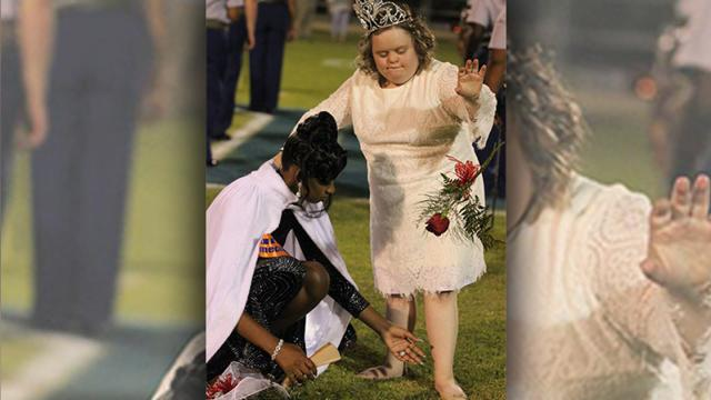 Marilyn Parker WALB - Homecoming Queen gives up her crown