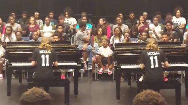Girl Warns Classmates She Cant Sing — But Jaw-Dropping Performance