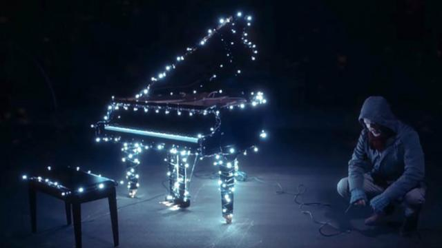 The Piano Guys Share Incredible Christmas Lights Display