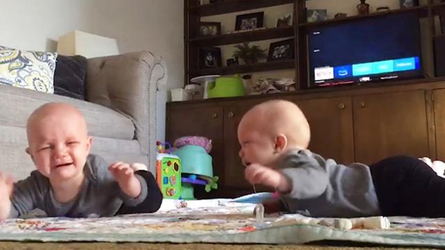 Crying Twins Instantly Calm Down When They Hear Justin Timberlake Song