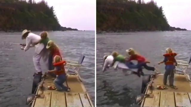 29 awesome clips of people fishing—but when you see what