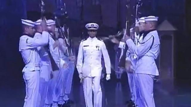 US Navy Presidential Ceremonial Honor Guard at Norway