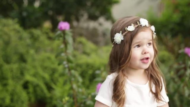 Precious 3-year-old Sings Beautiful Rendition of Gethsemane Just in Time for Easter