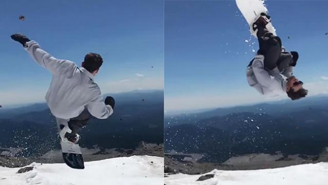 Impressive riding is the norm up on Mt. Hood during the summer