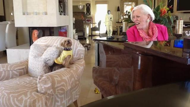 Pitch Perfect Dog Nails The High Notes In Singing Lesson With Owner_Medium