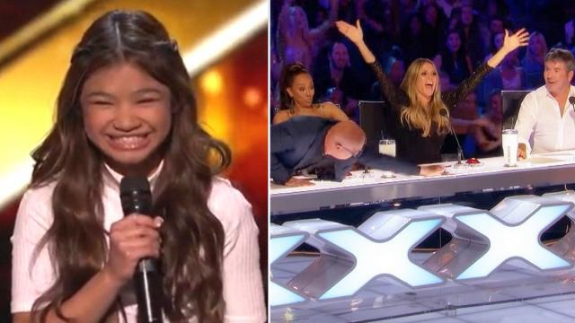 Youngest Performer On AGT Rips Ceiling Off With Song Forcing