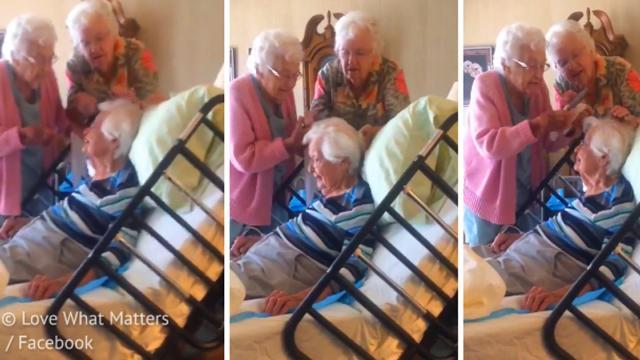 A Sweet Video Of Elderly Women Fixing Their 97-Year-Old Sister's Hair Has Gone Viral