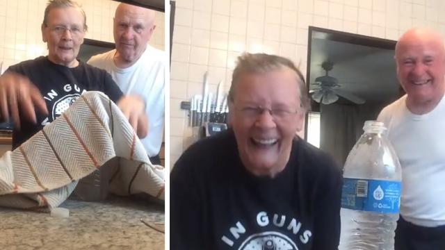 This Elderly Couple Still Has The Greatest Time Together