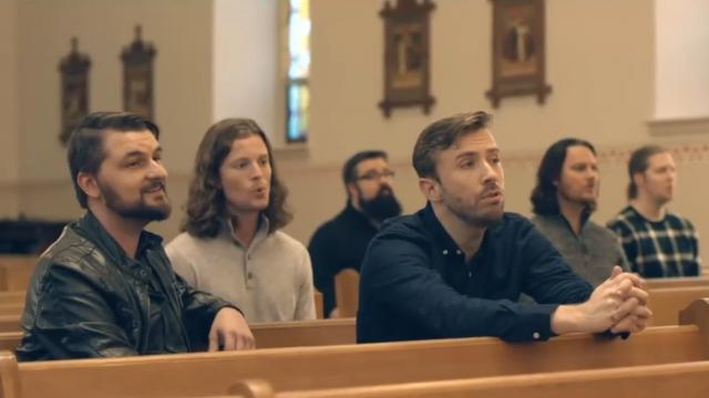 6 Men Sit In An Empty Church. My Heart Pounds The Second They Start To Sing
