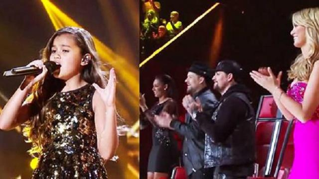Young Girl Grabs The Mic And Has The Judges On Their Feet With Her Performance