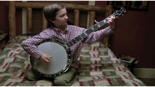 8 Year Old Sits Down To Play The Banjo, And Leaves Everyone With Their Jaws On The Floor!
