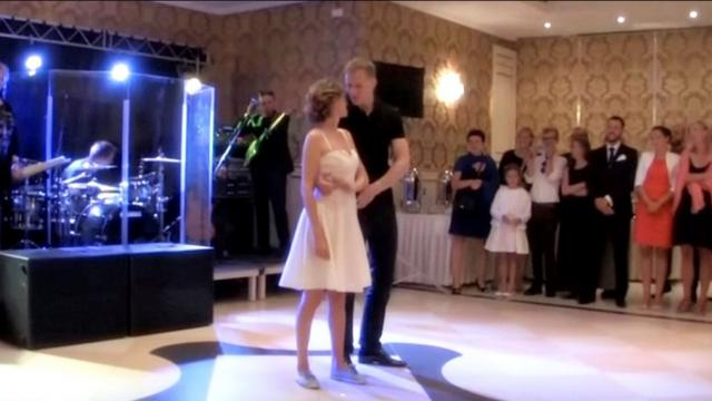 Bride And Groom Perform The Classic Moves From Dirty