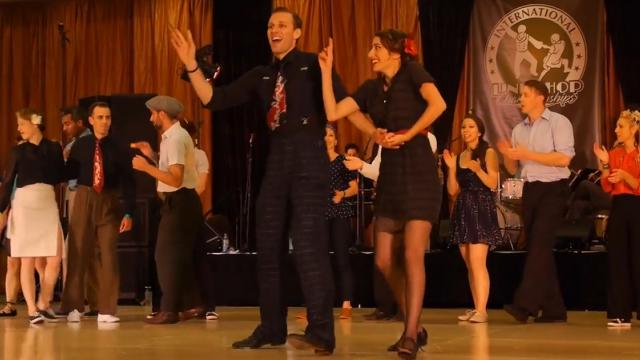 These Two Hit The Dance Floor And Stun The Crowd With Their Incredible Skills