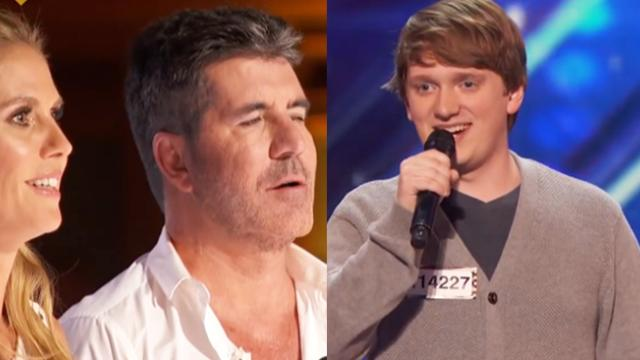 Americas got talent Homeschooled Singer Charms the Ladies with Humorous Tune - YouTube