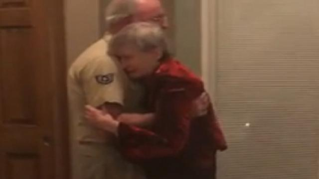 Veteran Surprises Wife On 50th Anniversary With Third