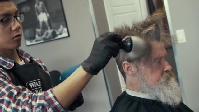 Homeless Man Gets a Makeover That Gives Him Renewed Sense