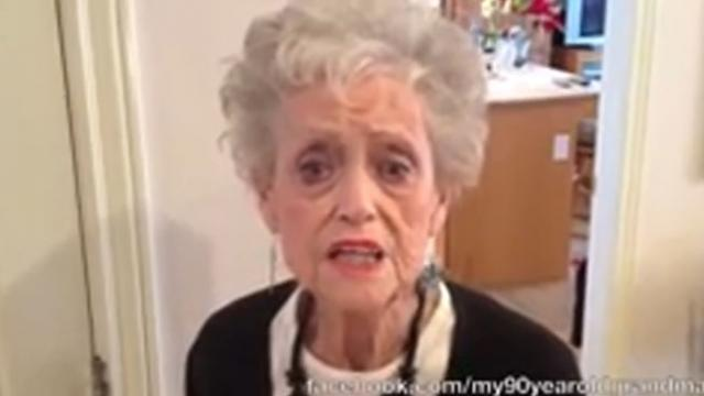 "90-Year-Old Grandma Dances To Whitney Houston! ""I Wanna Dance With Somebody"""