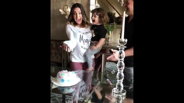 Moms Jaw Drops At Gender Reveal Party, But Her Over-The-Top