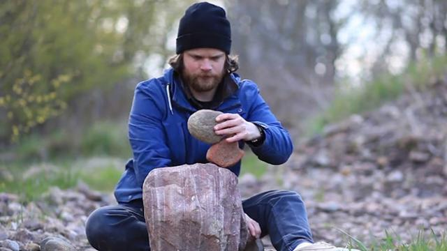 Talented Swedish Postman Balances Rocks To Create Majestic Statues
