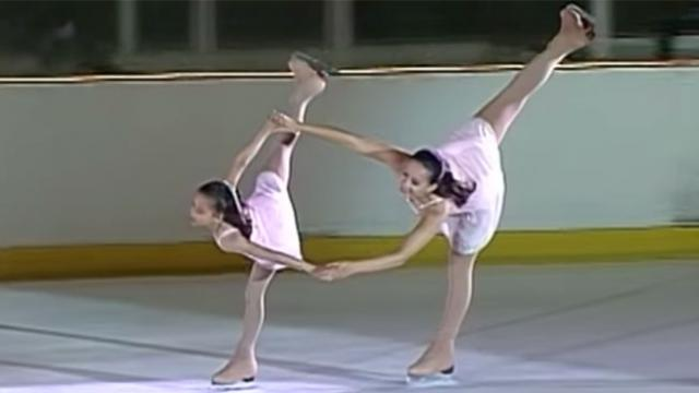 "Girls' Stunning Routine To ""Bridge Over Troubled Water"" Will Leave You Breathless."