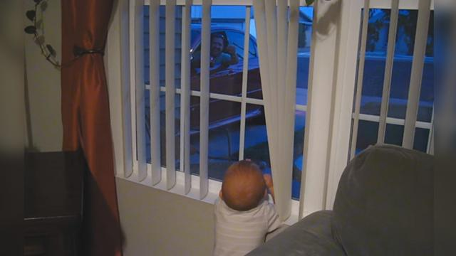 This Baby Is So Excited When Dad Comes Home, Itll Have You Smiling