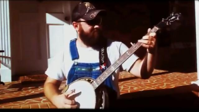 SOUTHERN MAN PICKS BANJO TO THE TUNE OF 'WILL THE CIRCLE BE UNBROKEN,' AND IT WILL BLOW YOU AWAY
