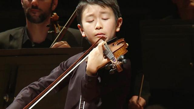 CHRISTIAN LI _ Menuhin Competition 2018, Junior finals