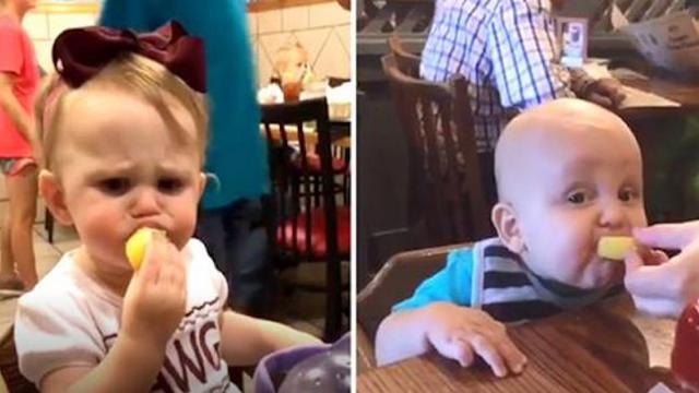 These videos of babies eating lemons are sure to make you laugh