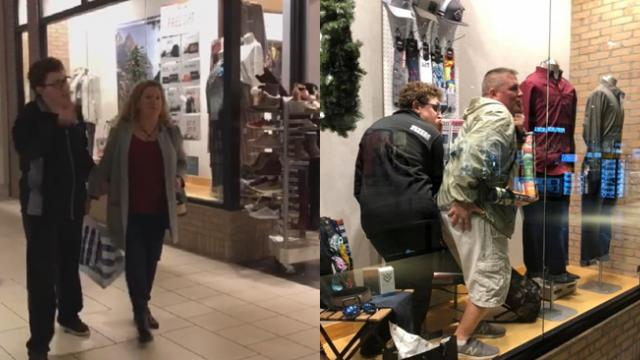 Goofy Dad's Attempt To Make Special Needs Son Laugh Has Entire Mall In Stitches.