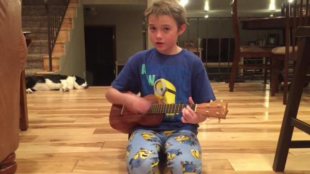 Super Talented Kid Performs Killer Cover Of Johnny Cashs Ring