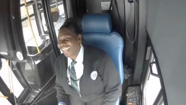 Cop Steps Foot Onto Public Bus, Dash Cam Captures Footage Of Bus Driver's Unforgettable Act