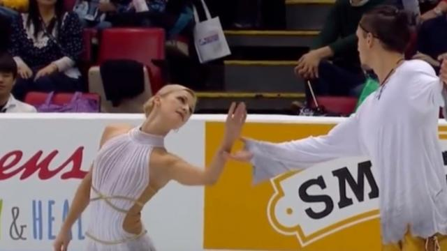 Figure Skating Pair Brings Crowd To Tears With Stunning