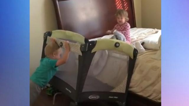 Toddlers Escape From Naptime