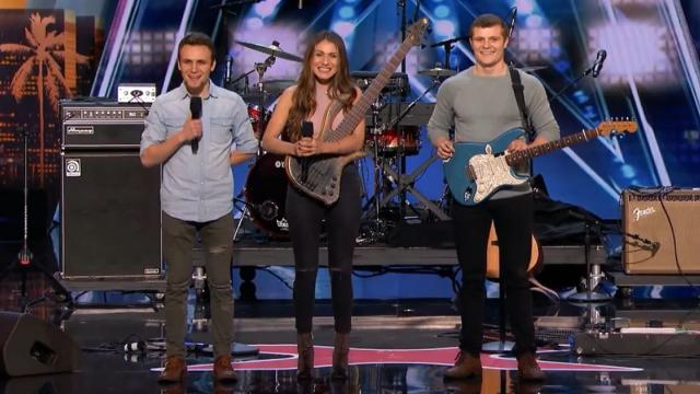 Sibling Band Brings Everyone To Their Feet With Heartfelt