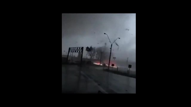 Tornado in Los Angeles Chile Biobío Region!!