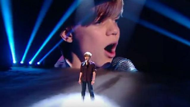 Ronan Parke - Britains Got Talent, Because Of You FINAL!