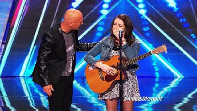Anna Clendening- Nervous Singer Delivers Stunning -Hallelujah- Cover - Americas Got Talent 2014