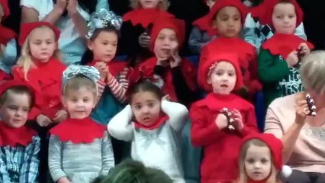 This kid is quite the diva about how her classmates sing!