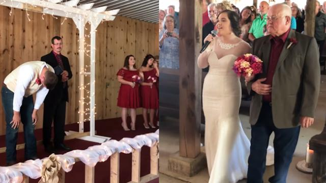 Voice During Wedding Brings Everyone To Tears