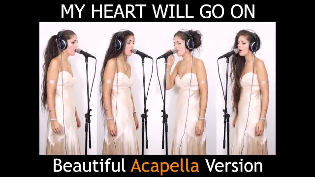 "Hermosa versión a capela de ""My Heart Will Go On"""