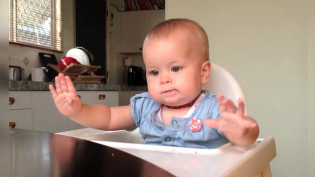 Nine Month Old Baby Dances In Highchair To Trey Songz
