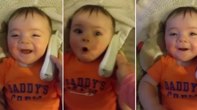 Try not to LOL at this Babys Giggle! (1)