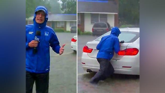 The Weather Channel goes from theatrics to good Samaritan